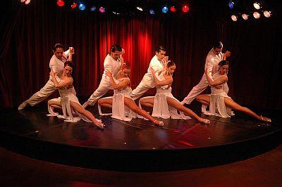upscale Faena tango show