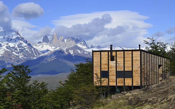 Awasi Patagonia hotel view