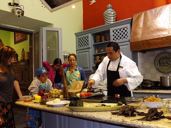 Sierra Nevada Sazon cooking school