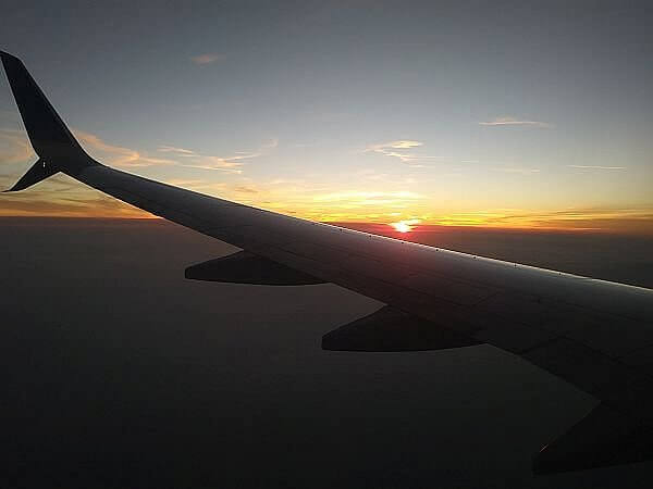 lessen stress on flight days