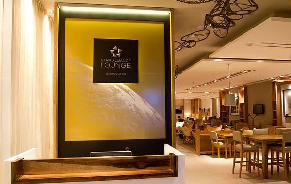 Star Alliance airport lounge South America