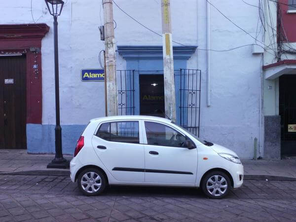 Alamo rental car in Mexico - Oaxaca office