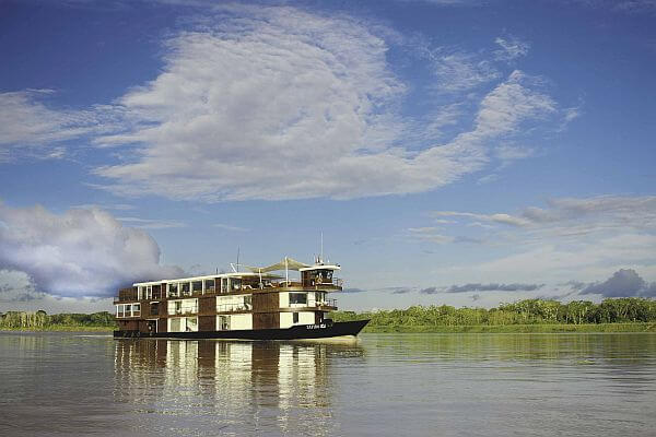 International Expeditions Zafiro river cruise ship in South America