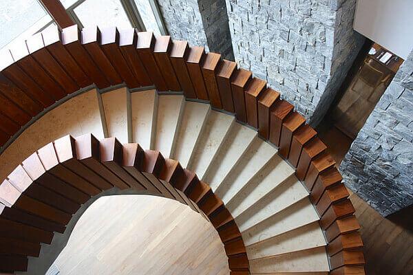 Arakur resort Argentina stairs