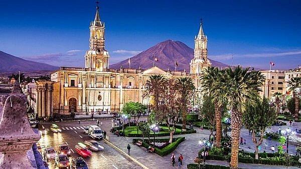 Arequipa Peru main plaza