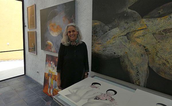 Kathleen Cammarata on Art Tour SMA