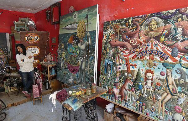 Yui Yakamoto artist San Miguel