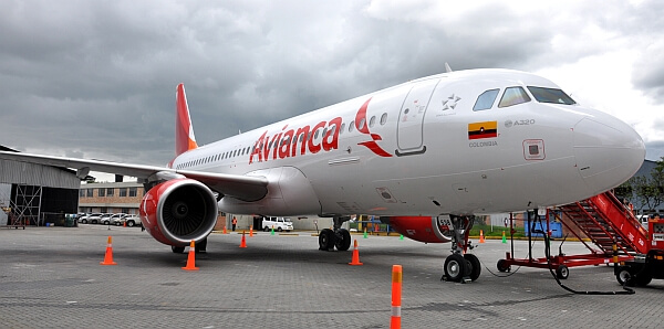 Avianca Airlines of Colombia