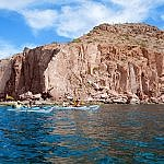 Ispiritu Santo Island kayaking adventure tour Baja