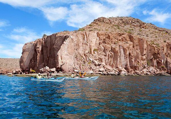 Ispiritu Santo Island kayaking adventure tour Baja