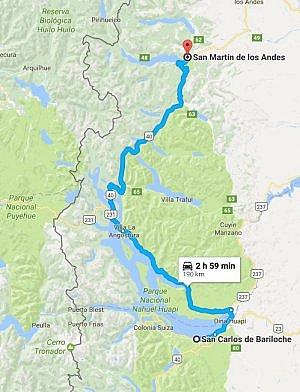 Patagonia lakes road trip