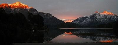 bariloche sunrise