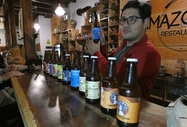 South American craft beer from Peru