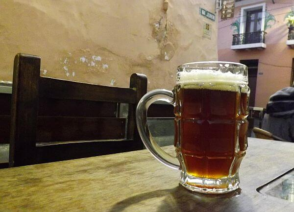 south american craft beer in Quito
