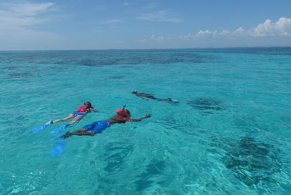 snorkeling tours from Placencia in Belize