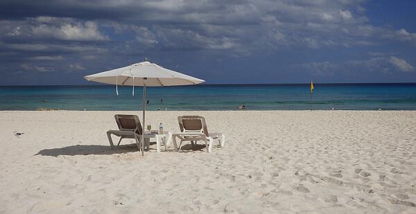 Cancun vacation beach