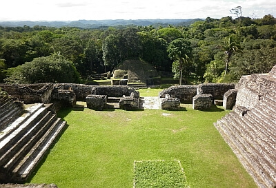 Caracol temple Belize
