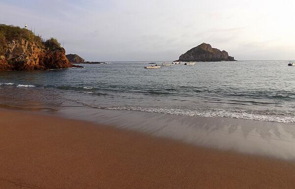 Pacific Mexico beach