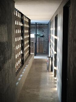 Carlota Hotel hallway