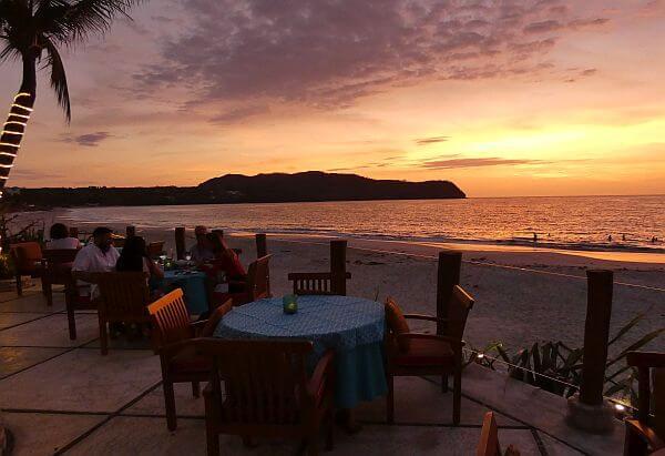 view from Casa de Mita luxury boutique beach resort