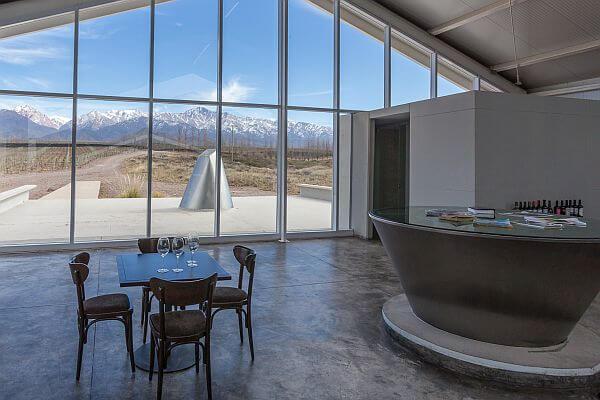 Uco Winery Argetnina tasting room