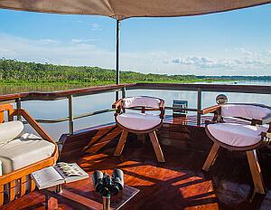 small ship cruise Amazon
