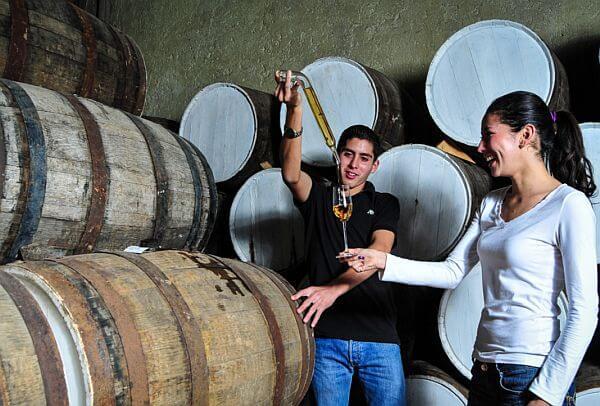 Cazul 100 tequila distilled at La Confria in Jalisco