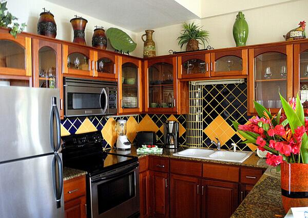 villa with kitchen Belize vacation