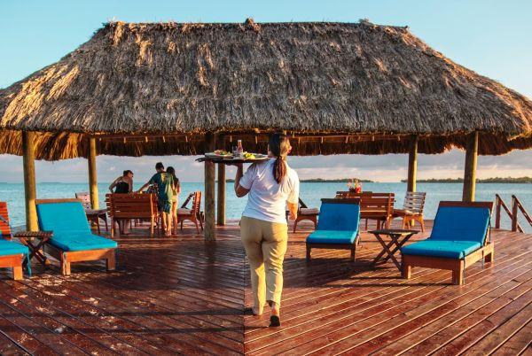 Roaming Butler Service for Placencia Belize dining