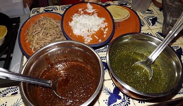 Puebla cooking class