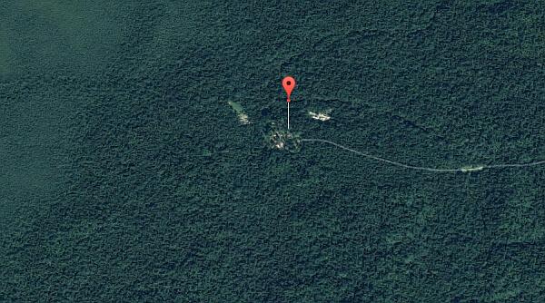 Chan Chich landing strip