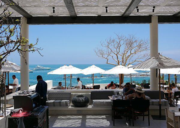 Restaurant view at Chileno Bay Resort Cabo