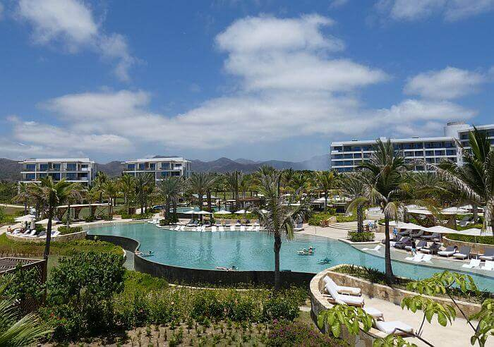 Conrad Punta de Mita swimming pools