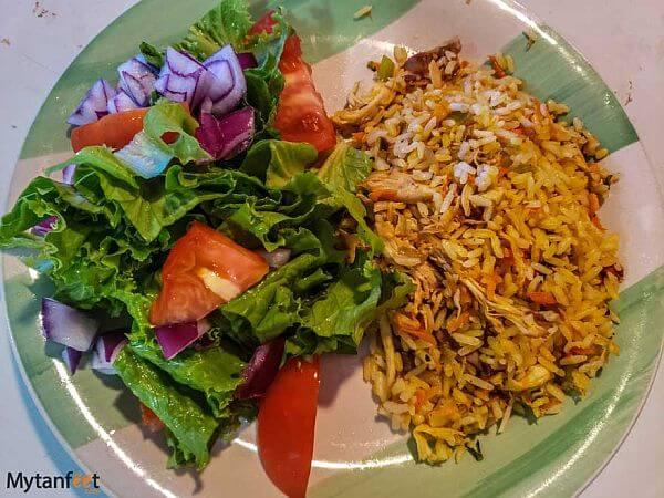 arroz con pollo Costa Rica
