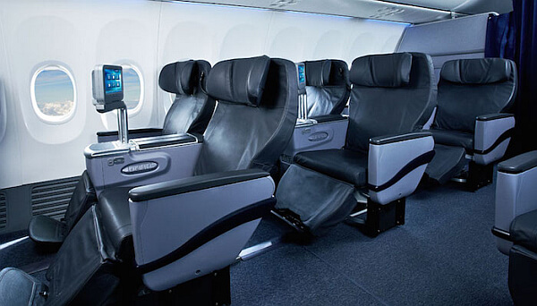 Copa Air business class