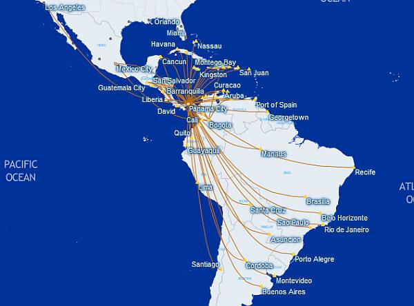 Copa Airlines Latin America