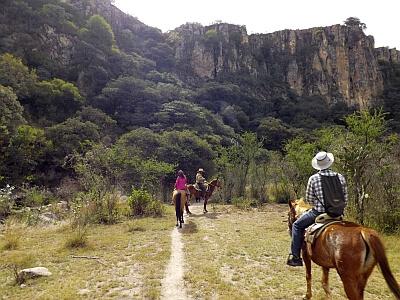 Horseback tour San Miguel