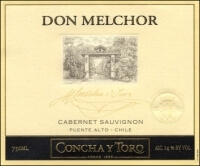 Don Melchor Concha y Toro wine