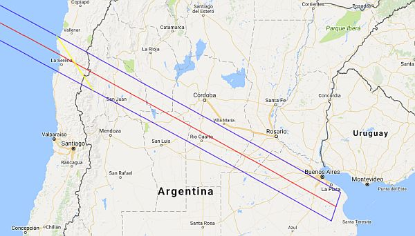 total solar eclipse 2019 Chile Argentina