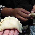 making empanadas in Salta Argentina