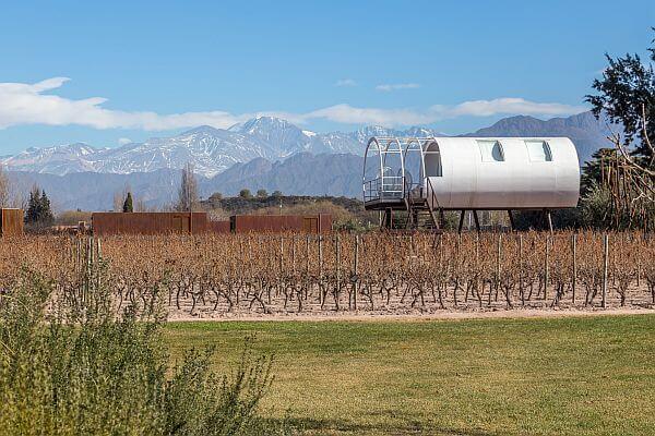 Villa at Entre Cielos hotel in the Mendoza province of Argentina