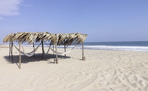 Escondido Hotel beach Oaxaca coast
