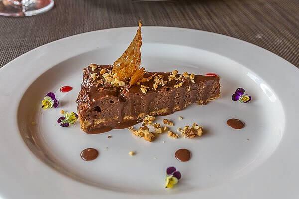 dessert at explora Valle Sagrado Peru
