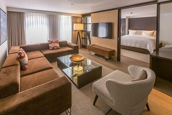 Four Seasons Bogota suite