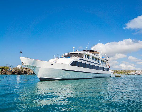 Galapagos Islands Ecuador luxury ship