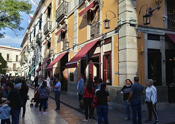 Casa Valadez Restauarnt in Guanajuato