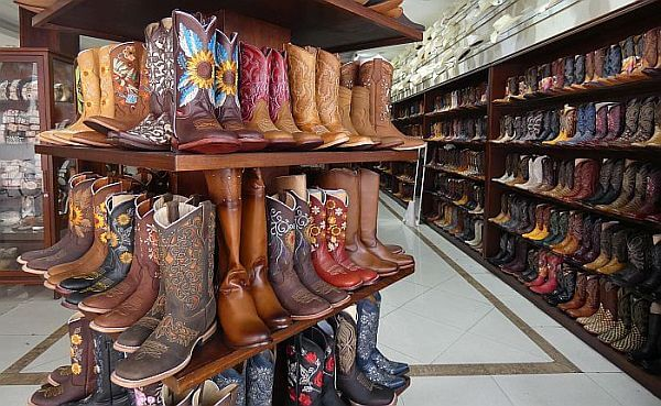 Leon Mexico boots from the source
