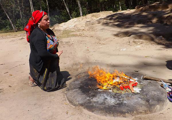 Mayan female shaman
