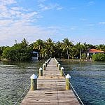 Hatchet Caye private island resort Belize