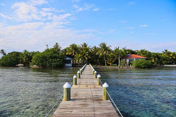 Ray Caye private island resort Belize